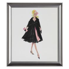 They have a whole bunch of these (for your bathroom) $39 each Barbie Midnight Mischief from Z Gallerie