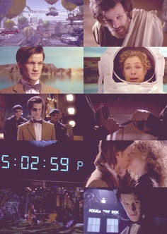 The Wedding of River Song, I clicked play and thought I'd missed something huge although it's just cause it starts 'en media res' Bbc Doctor Who, 11th Doctor, Tardis, Alex Kingston, Hello Sweetie, Don't Blink, Torchwood, Geronimo, Matt Smith
