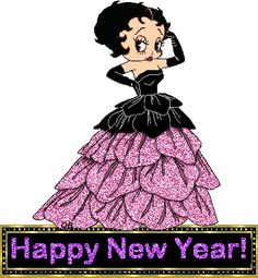 Betty Boop: Happy New Year!