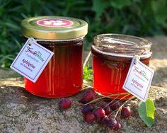 handgemachtes Apfelgelee mit Felsenbirne - kleine Geschenke aus der Marmeladenmanufaktur