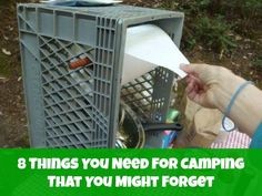 8 Things You Need For Camping (That You Might Forget)