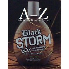 Black Storm Premium Tanning Lotion, Extreme Silicone Bronzer from amazon