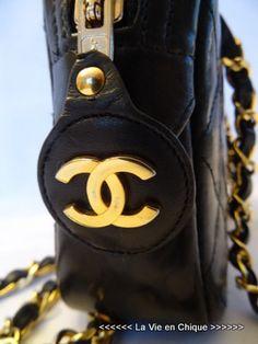 Chanel camerabag zwart 1991.[16/41]
