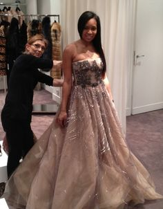 Marlo Hampton irks me to my core but her in this beautiful Valentino gown is everything!