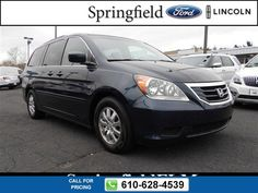 2009 Honda Odyssey EX-L 62k miles $17,898 62979 miles 610-628-4539 Transmission: Automatic  #Honda #Odyssey #used #cars #SpringfieldFord #Springfield #PA #tapcars