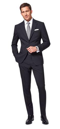 Dolzer Man Schwarzer Anzug nach Maß . . . . . der Blog für den Gentleman - www.thegentlemanclub.de/blog