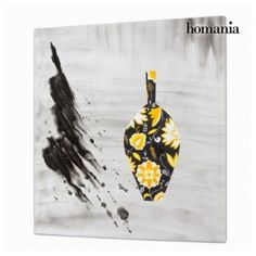 OIL PAINTING WITH VASE BY HOMANIA - Bledoncy