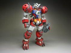 "Custom Build: MG 1/100 Gundam AGE-1T Titus ""Gigantic Fist"" - Gundam Kits Collection News and Reviews"