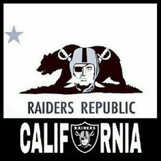 Oakland/Los Angeles Raiders Silver and Black California Okland Raiders, Raiders Pics, Raiders Stuff, Oakland Raiders Football, Raiders Baby, Pittsburgh Steelers, Dallas Cowboys, Raider Nation, Raiders Los Angeles