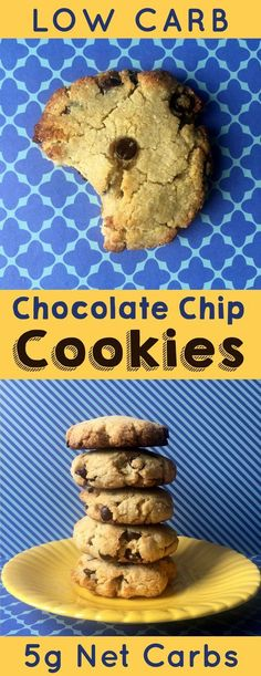 This low carb version of the classic chocolate chip cookie can totally hold  its own against the real thing.