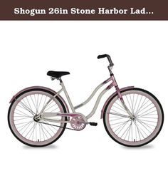 b0670101af8 Shogun 26in Stone Harbor Ladies Cruiser Bicycle. The Shogun Stone Harbor  Cruiser Bike is built