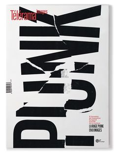 Broken type reminds me of a wreckage. Commercial Type x Télérama collab doublespeak, doublethink rebel against the authoritarians Punk Poster, Typo Poster, Typographic Poster, Graphic Design Magazine, Magazine Design, Layout Design, Type Design, Design Web, Art Design