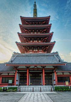 Sensoji Pagoda, Tokyo