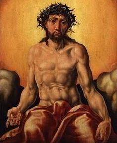 A beaten Jesus