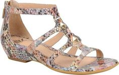#Sofft - Brilynn (Women's) - Rainbow Multi Ginger Funny Python