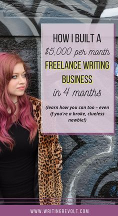 If you want to make money writing online and become a freelance writer full-time, you need a marketing strategy. Why not steal mine? :) Check out this post to learn how I grew my freelance writing business!