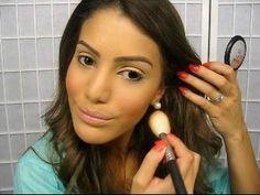 Preparação da Pele pro Dia (Maquiagem Basica) - YouTube
