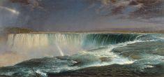 Frederic Edwin Church.  Niagra.  http://antiquesandfineart.com/articles/article.cfm?request=855
