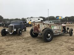 Awesome rat rods and rods at Pismo Beach, For The Race of Gentlemen