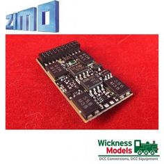 Zimo MX632D 21 Pin DCC Decoder ideal for 00 and O Gauge Model Railway in Collectables, Trains/ Railway Models, Power & Control   eBay
