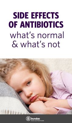 If your child had a reaction to an antibiotic, would you know it?