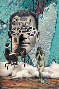 Inspiration Hut — Vintage Collage Artist Eugenia Loli