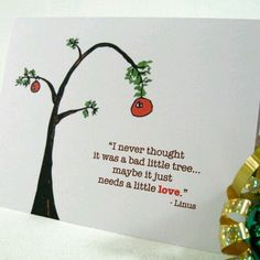 Holiday Card Set - Merry Christmas Charlie Brown - Six Greetings - Faith Hope Tolerance - Linus Quote - Free Shipping. Description from pinterest.com. I searched for this on bing.com/images