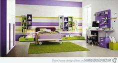 20 Multi-color Creative Bedroom Designs