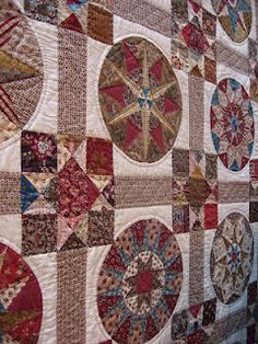 Always in love with circles on quilts. :)