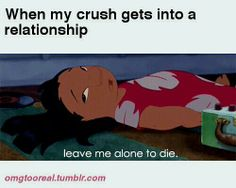 Relatable Posts About Crushes | When My Crush is in a Relationship