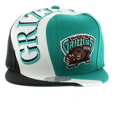 Hats Of Vancouver Grizzlies