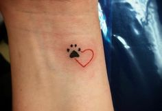 Grab your hot tattoo designs. Get access to thousands of tattoo designs and tattoo photos Mini Tattoos, Little Tattoos, Dog Tattoos, Body Art Tattoos, Tatoos, Paw Print Tattoos, Finger Tattoos, Ladies Tattoos, Piercing Tattoo