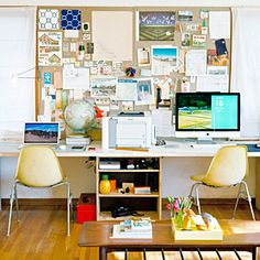 Versatile ideas for a small live-work space | Work space | Sunset.com