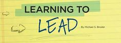 Are leaders born or do they learn to lead?