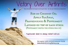 Young Living Essential Oils: Arthritis    Follow me on facebook at Oils for Life.