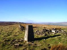 The trig point on Harter Fell (just for Ann Whitfield).