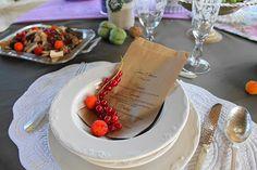 Forest Wedding menu