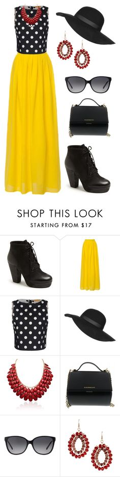 """Sun Shine"" by aowens99 on Polyvore featuring Steve Madden, Alice + Olivia, Topshop, Givenchy, Michael Kors, Dettagli, women's clothing, women's fashion, women and female"