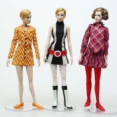 Twiggy Model, Space Fashion, Fashion Design, Moda Vintage, 1960s Fashion, Modcloth, Editorial Fashion, Mod Clothing, Barbie