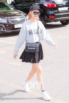 Girls' Generation Sooyoung fashion going to Music Bank [150710]
