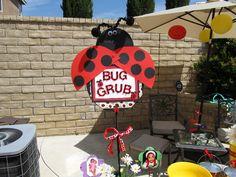 "Photo 5 of 54: Lady Bug Garden / Birthday ""Kelis 1st Birthday"" | Catch My Party"