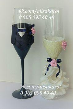 Decorative Bottles : Wedding toasting glasses Mr and Mrs wedding flutes by AlisaKarol -Read More – Wedding Toasting Glasses, Wedding Champagne Flutes, Wedding Bottles, Toasting Flutes, Champagne Glasses, Wedding Toasts, Diy Wedding Decorations, Wedding Ideas, Mr And Mrs Wedding