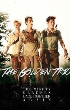 The Golden Trio: Thomas, Minho, and Newt My favorite characters in the Maze Runner series. Now it is the dull duo with out BLOODY NEWT! Maze Runner Thomas, Maze Runner The Scorch, Maze Runner Cast, Maze Runner Trilogy, Maze Runner Series, Thomas Brodie Sangster, The Scorch Trials, Fandoms, Dylan O