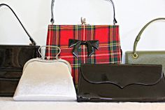 YOUNG HEART: Thrifted: Purses (it's an addiction)