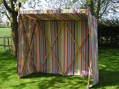 Sunshelters in all kinds of colors and STRIPES!