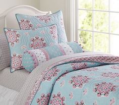 Brooklyn Quilted Bedding #pbkids