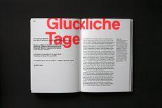 TDC Communication Design Winners 2014 - Art Director: Sven Quadflieg, Cologne,Germany Client: Düsseldorfer Schauspielhaus