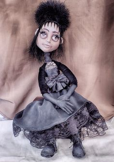 Блог о текстильных шарнирных куклах ручной работы: Конкурс имени Тима Бёртона. ФОТОНЕРАЗБЕРИХА