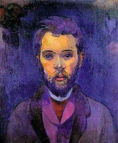 Paul Gauguin - Portrait of William Molard