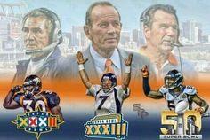 In a Championships state of mind.Go Bronco's ! Denver Broncos Super Bowl, Denver Broncos Football, Go Broncos, Broncos Fans, Broncos Gear, Pro Football Teams, Football Memes, Sports Memes, Football Stuff